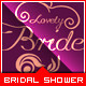 Bridal Shower Invitation - Lovely Bride  - GraphicRiver Item for Sale