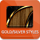 Gold And Silver Exclusive Styles - GraphicRiver Item for Sale