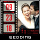 Love Film Clip II - Wedding Save the Date Template - GraphicRiver Item for Sale