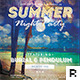 Summer Night Party Flyer - GraphicRiver Item for Sale