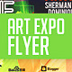 Art Show Expo Flyer Template V.2 - GraphicRiver Item for Sale