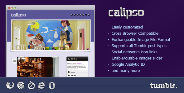 Calipso - Calipso Tumblr Theme