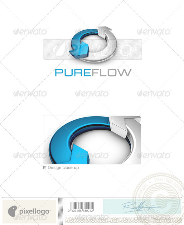 GraphicRiver Marketing Logo 3D-718 524535