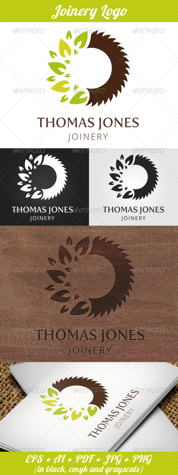 GraphicRiver Joinery Logo 5100811