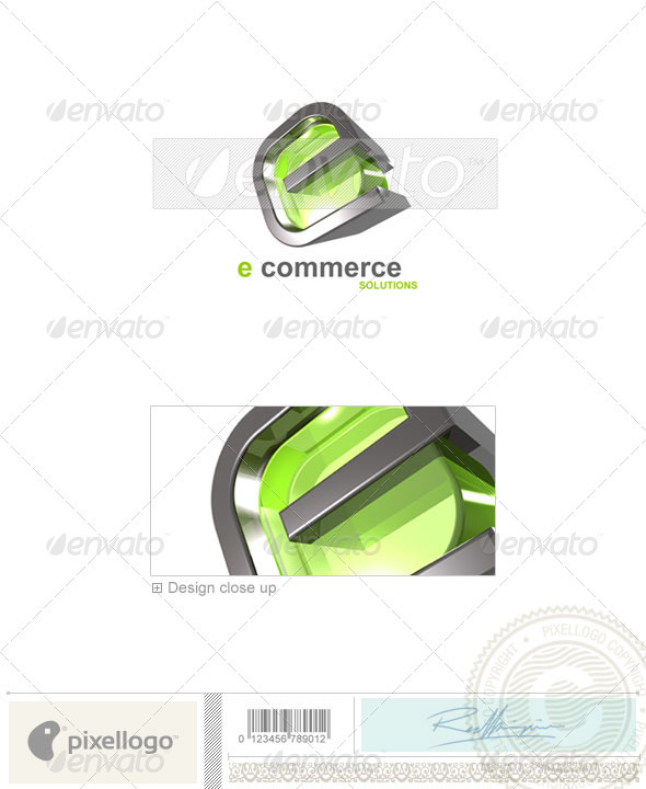 Technology Logo - 3D-71 - 3d Abstract