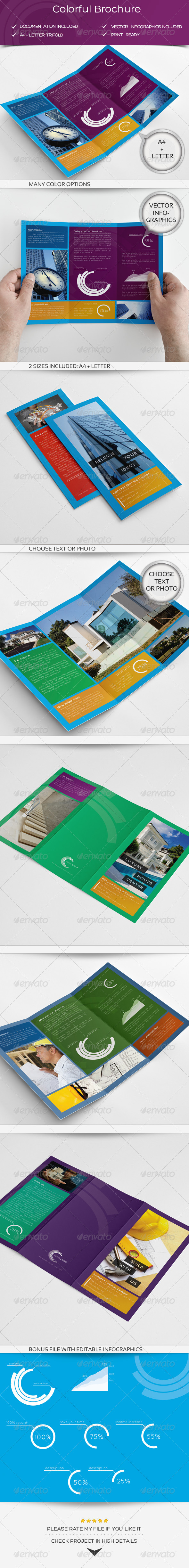 Colorful Brochure - Corporate Brochures