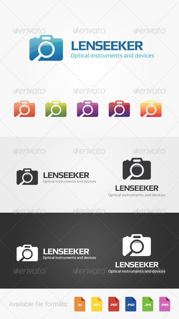 GraphicRiver Lenseeker Logo 5105013