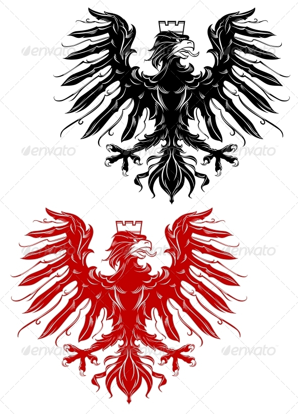 GraphicRiver Royal Heraldic Eagle 5105104