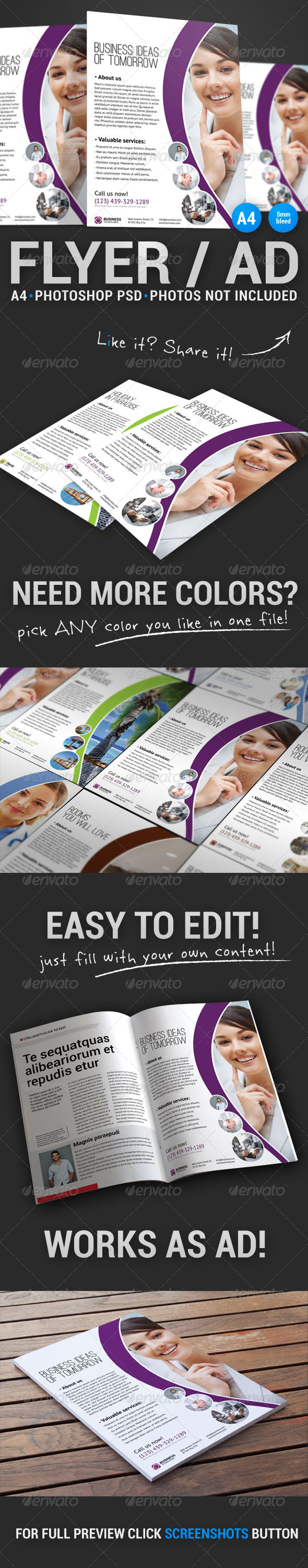 GraphicRiver Corporate Flyer 21 5107314