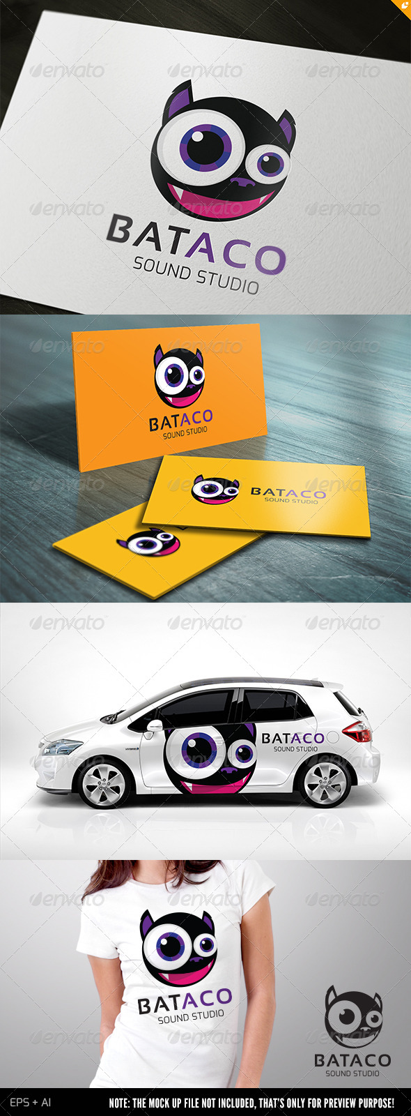 GraphicRiver Bat Aco Sound Studio 5107935