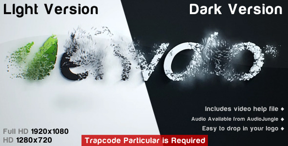 After Effects Project - VideoHive Logo Dispersion Reveal Dark&Light 526377