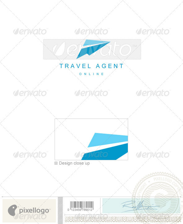 GraphicRiver Transport Logo 826 526476