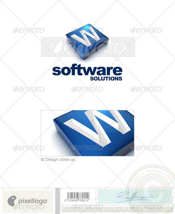 GraphicRiver W Logo 3D-644-W 526521
