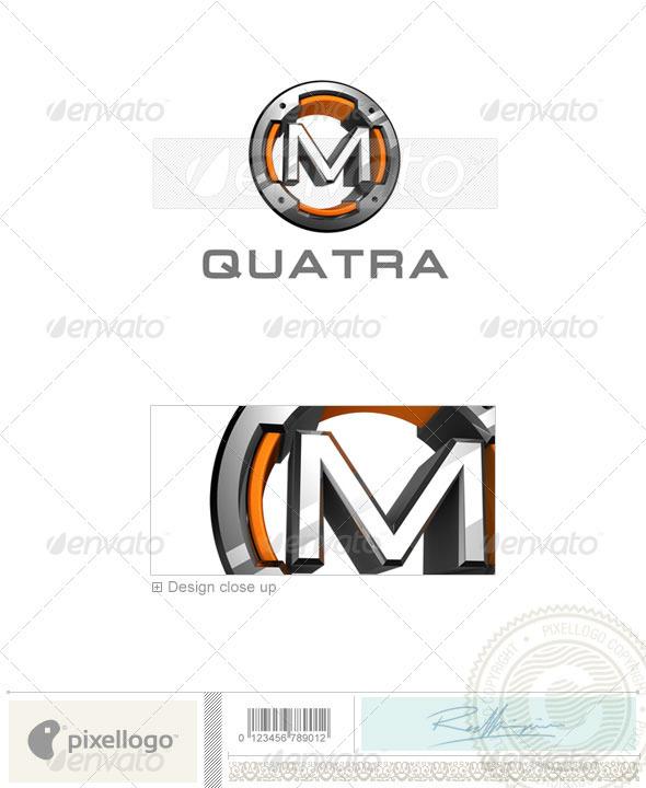 GraphicRiver M Logo 3D-494-M 526605