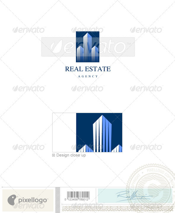 Logo Templates : Home & Office Logo 918 GraphicRiver 526644 - Buildings