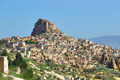 Uchisar rock fortress in Cappadocia - PhotoDune Item for Sale