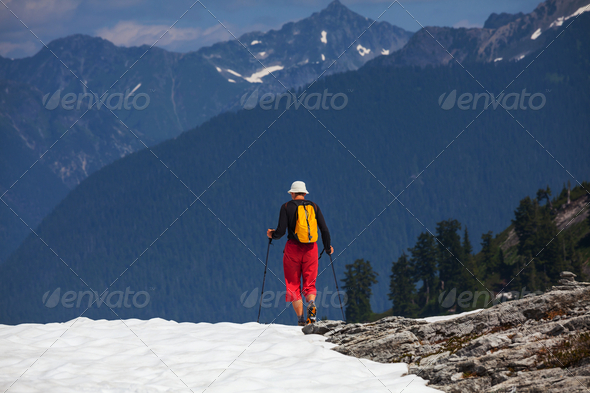 Hike in Baker Area - Stock Photo - Images
