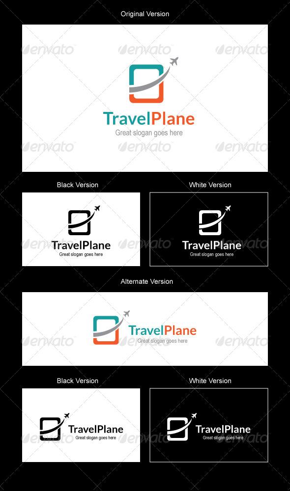 GraphicRiver Travel Plane Logo Design 5113793