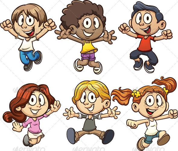 GraphicRiver Cartoon Kids 5114663