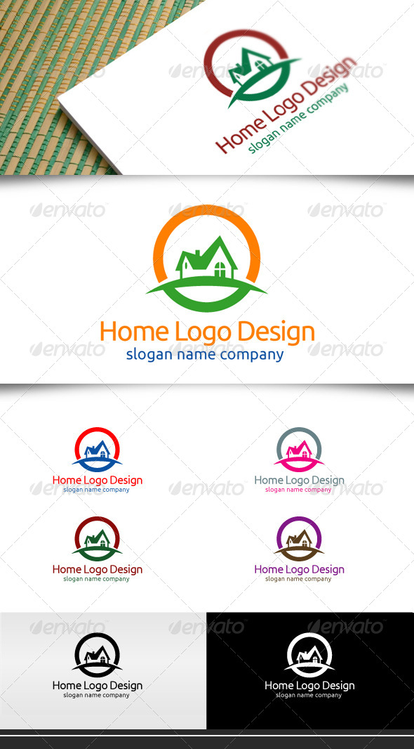GraphicRiver Home Logo Design 5115223