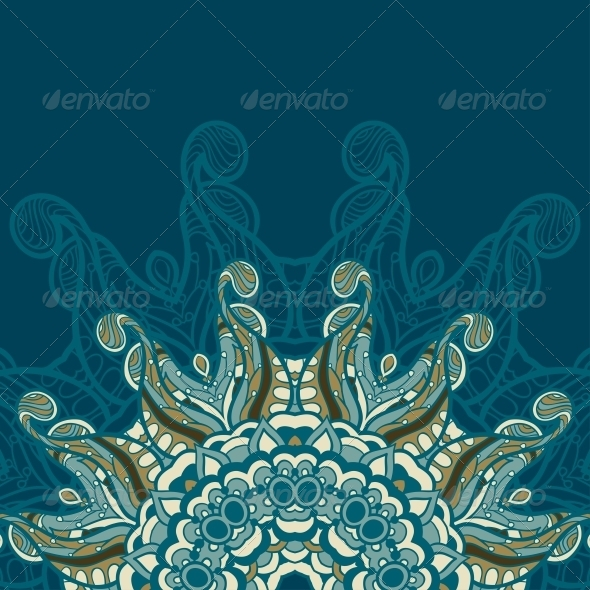 GraphicRiver Circle Ornament Ornamental Round Lace 5116195