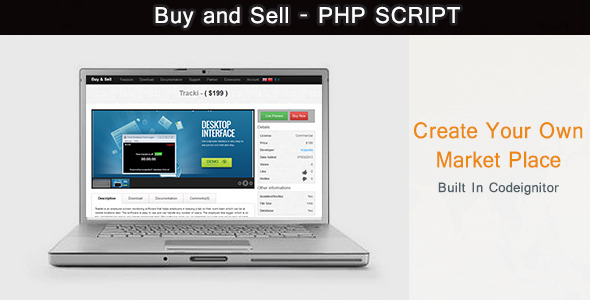 CodeCanyon Buy and Sell PHP Script 5117331