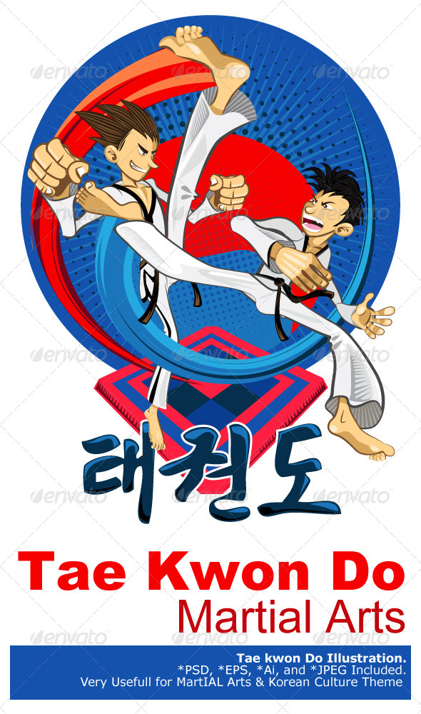 GraphicRiver Tae Kwon Do Korean Martial Art 5118229