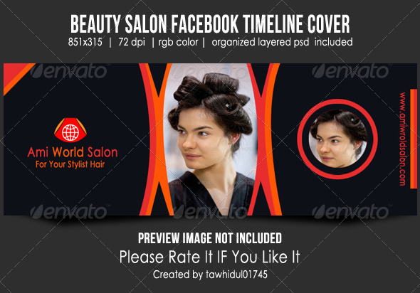 GraphicRiver Beauty Salon Facebook Timeline Cover 5123011