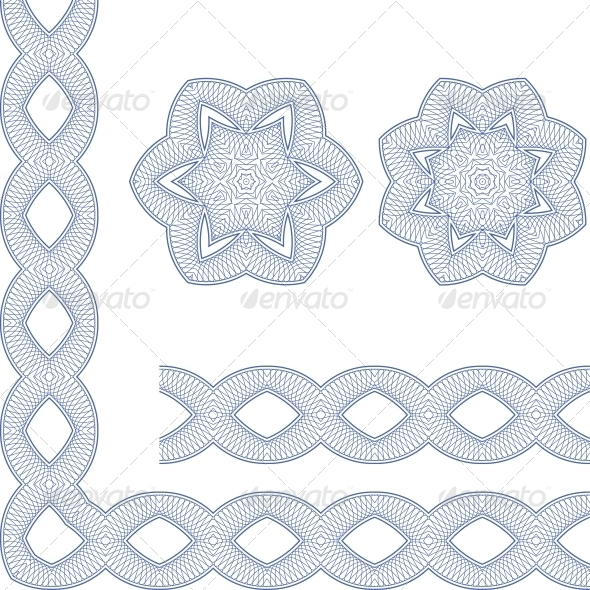 GraphicRiver Ornamental Guilloche Seamless Pattern 5123258