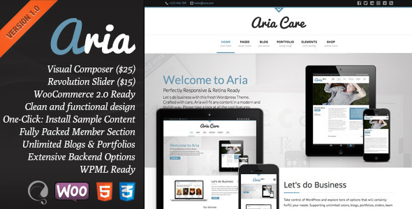 Aria ThemeForest