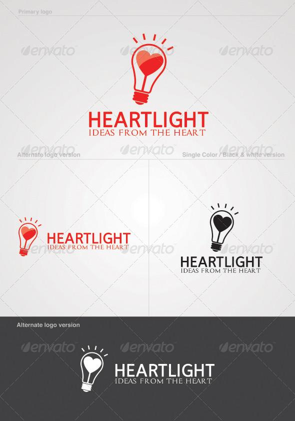 GraphicRiver Heartlight Logo 5124112