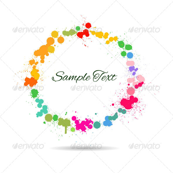 GraphicRiver Artistic Watercolor Splashes 5125354