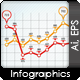 Infographic Elements - Line Graph And Bar Graph - GraphicRiver Item for Sale