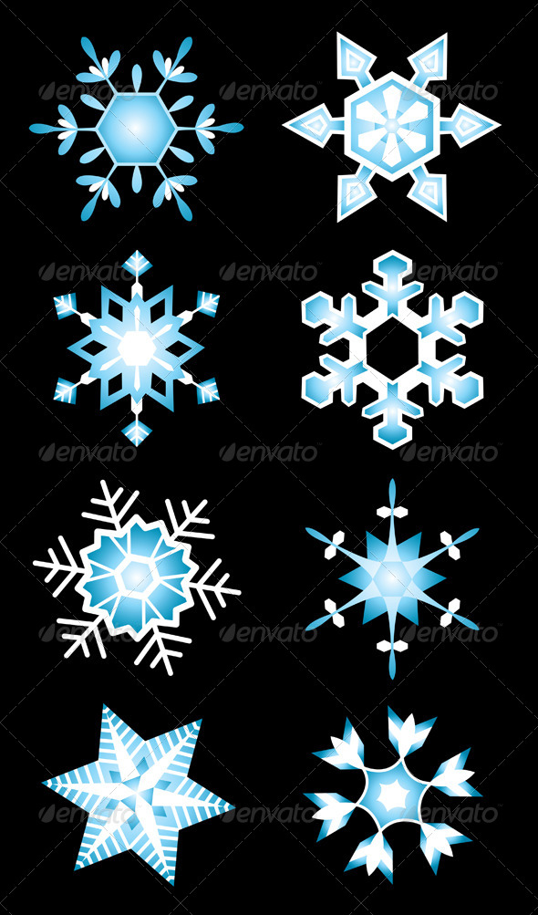 GraphicRiver Snowflakes 5125482