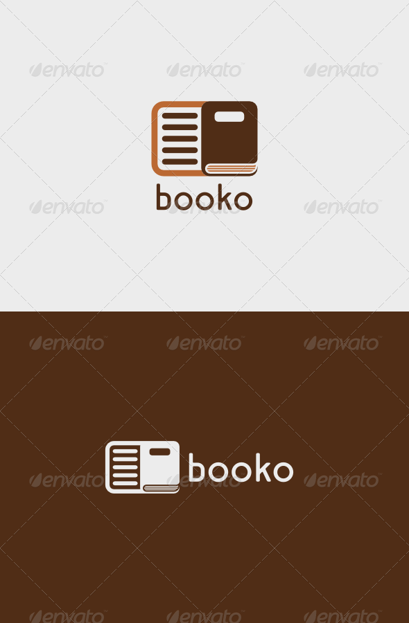 GraphicRiver Booko Logo 5121682