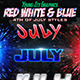 Red White & Blue Photoshop Styles - GraphicRiver Item for Sale