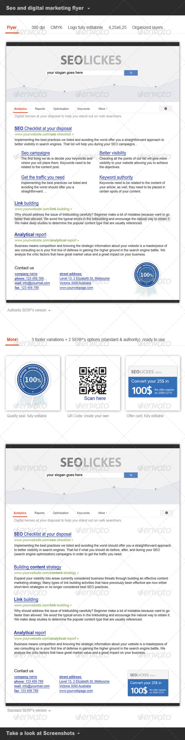 GraphicRiver Flyer SEO and Digital Marketing 5042706