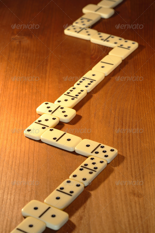Dominoes Game - Stock Photo - Images