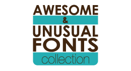 Awesome & Unusual Fonts