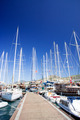 Yachts on the harbor next to quay. - PhotoDune Item for Sale