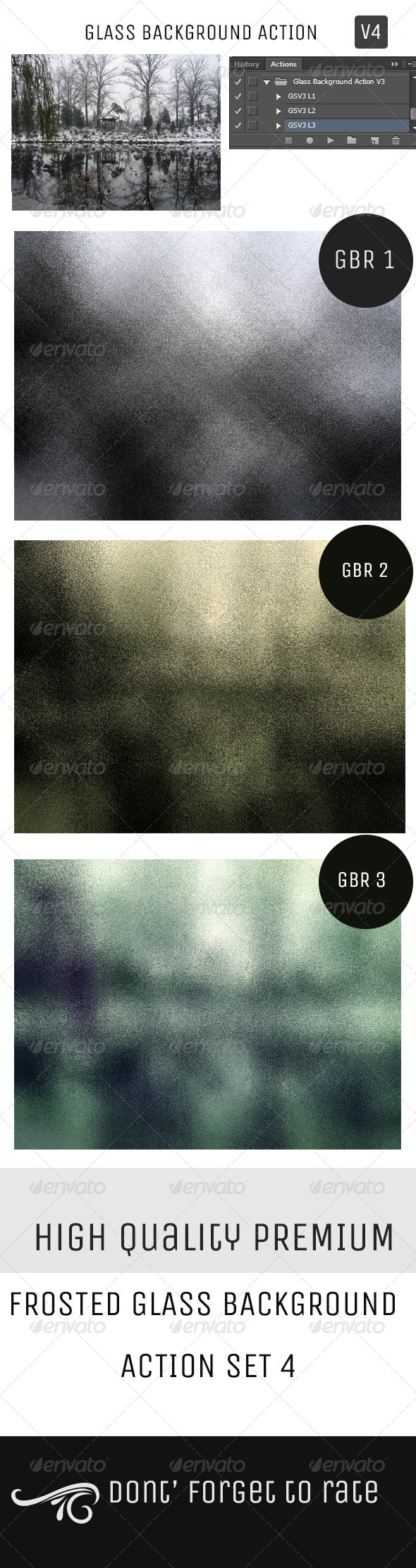GraphicRiver Glass Background Action Set V4 5128589