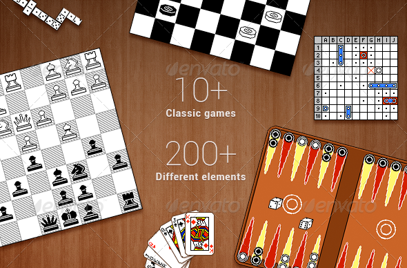GraphicRiver eClassic games tileset 5132885