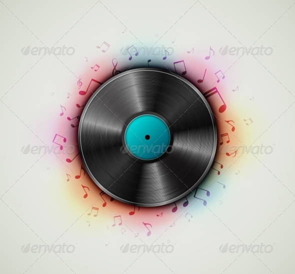 GraphicRiver Vinyl Record 5133386