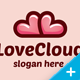 Heart Love Cloud - GraphicRiver Item for Sale