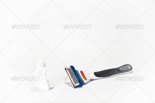 Ready to Shave - Stock Photo - Images