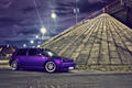 Purple Car at Night - PhotoDune Item for Sale
