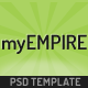 myEmpire - Business, Portfolio, Shop PSD - ThemeForest Item for Sale