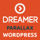 Dreamer - Photo & Video Parallax WordPress Theme - ThemeForest Item for Sale