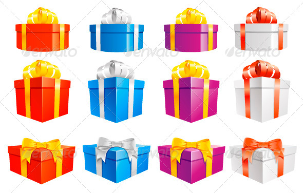 GraphicRiver Gift Boxes 5139472