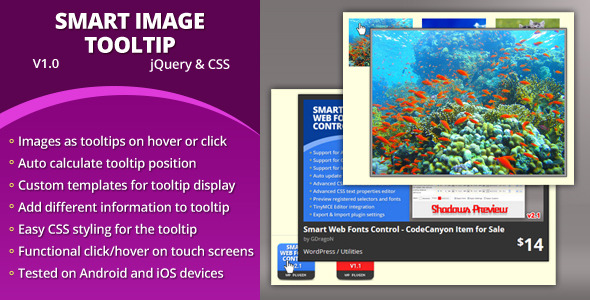CodeCanyon Smart Image Tooltip 5139513